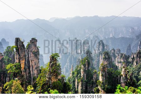 View Of Quartz Sandstone Pillars (avatar Mountains)