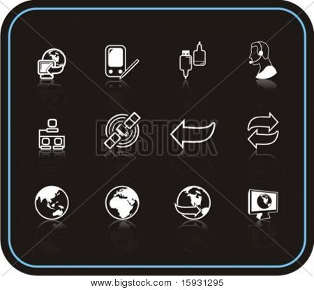 Exclusive Series of Internet Icons. Check my portfolio for much more of this series as well as thousands of similar and other great vector items.
