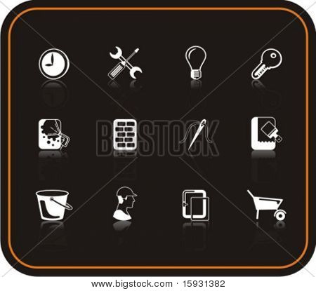 Exclusive Series of Repair Icons. Check my portfolio for much more of this series as well as thousands of similar and other great vector items.