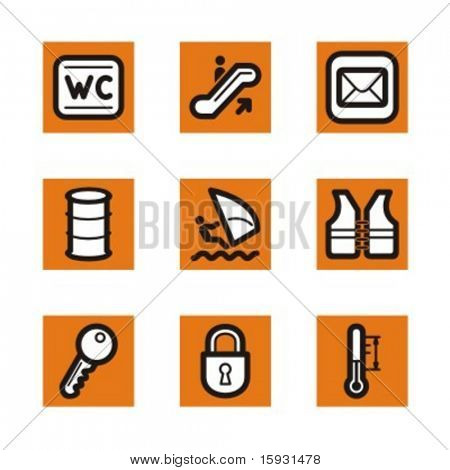 Exclusive Series of Simple Icons. Check my portfolio for much more of this series as well as thousands of similar and other great vector items.