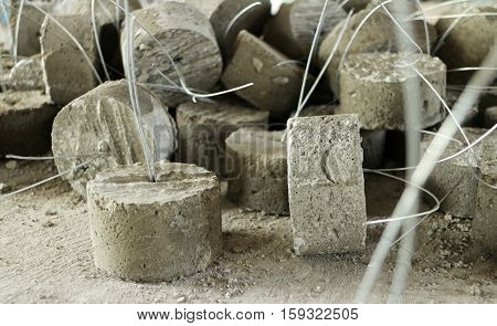 Spacers for using with Concrete Reinforced Steel Works
