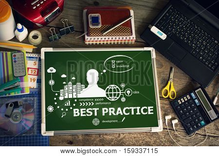 Best Practice Design Concept For Business, Consulting, Finance, Management.
