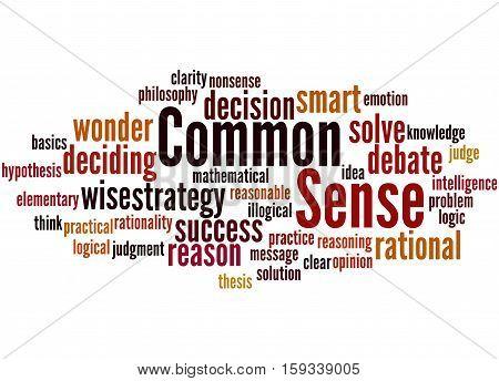 Common Sense, Word Cloud Concept 2