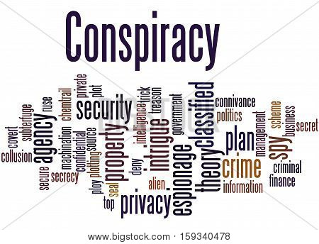 Conspiracy, Word Cloud Concept 9
