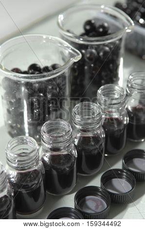 Wine Quality Control Testing In Modern Laboratory