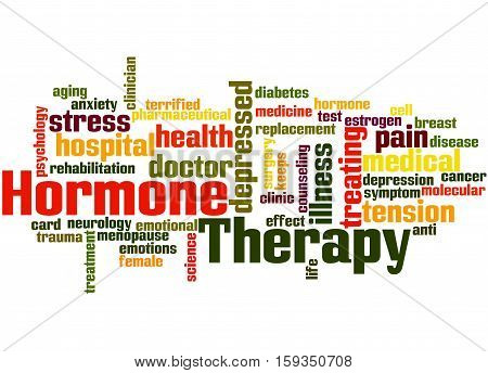 Hormone Therapy, Word Cloud Concept 2