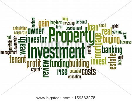 Property Investment, Word Cloud Concept
