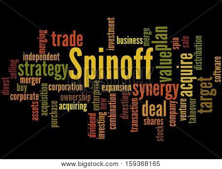 Spinoff, Word Cloud Concept 2