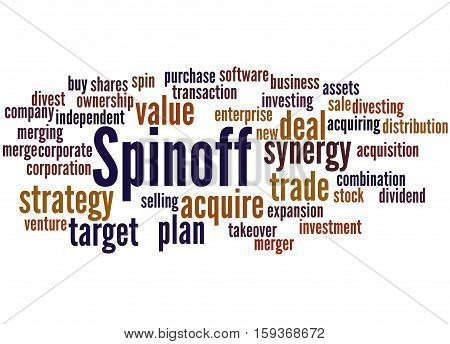 Spinoff, Word Cloud Concept 7