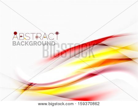 Blurred wave motion, background