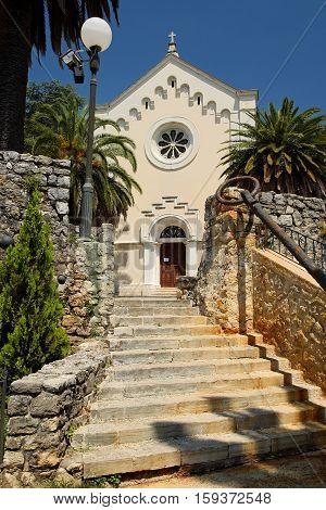 Church of St. Jerome in Herceg Novi Montenegro