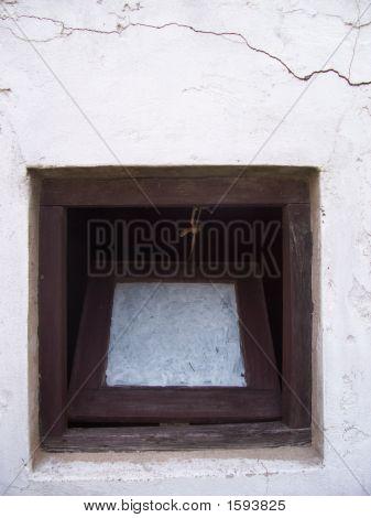 Old Square Window