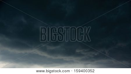 Dark Clouds Before A Thunder-storm