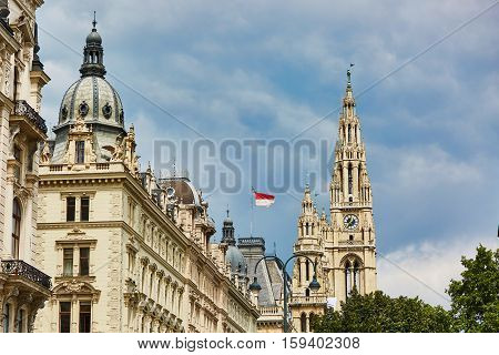 Scenic View Of Vienna