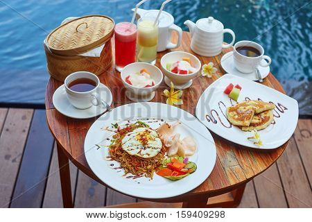 Traditional Balinese Breakfast