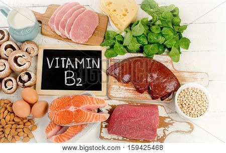 Foods Highest In Vitamin B2 (riboflavin)