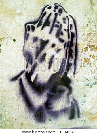 Grafitti Stencil Hands