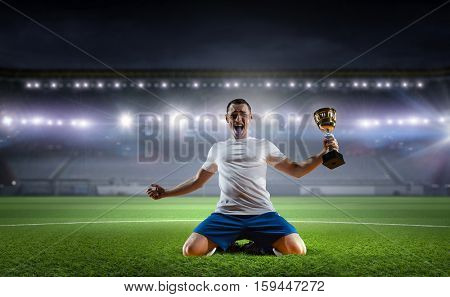 He is the champ