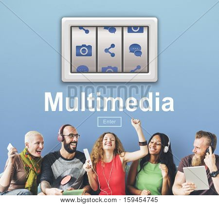 Technology Networking Multimedia Internet Concept