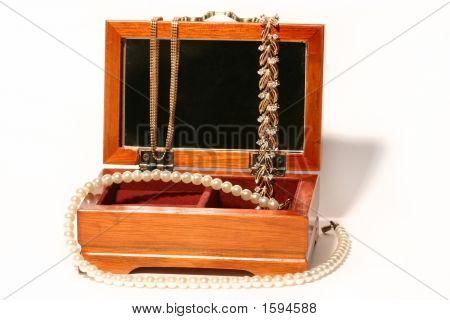 Casket With Jewelry