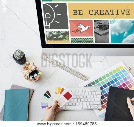 Fresh Ideas Inspiration Innovation Concept