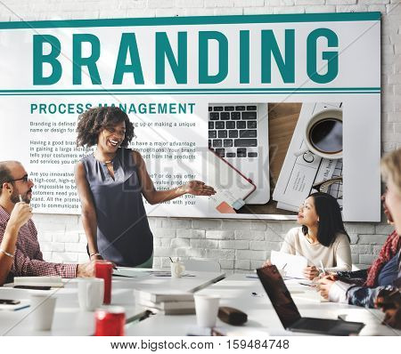 Branding Trademark Marketing Research Advertising Concept