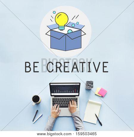 Fresh Ideas Be Creative Inspiration Imagination Light Bulb Concept