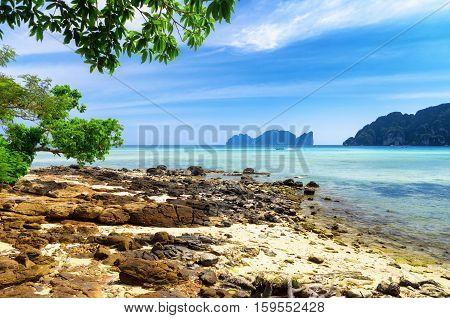 Tropical Landscape. Phi-phi Island, Thailand
