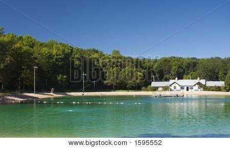 Swimming Pool And Bath House