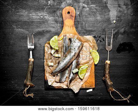 Fillet Of Pickled Herring