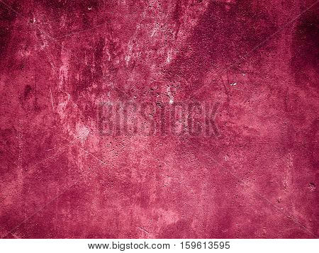 Background Made With A Texture Of A Red Wall