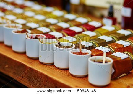 Sauces, Mustards And Tapenades On Market