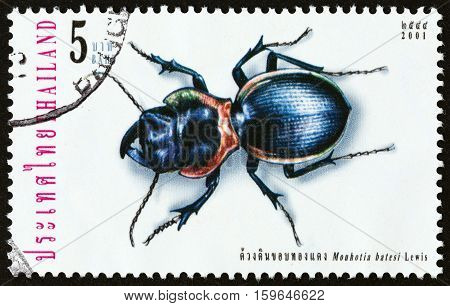 THAILAND - CIRCA 2001: A stamp printed in Thailand from the