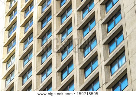 Office building windows. City and modern concept