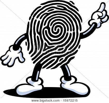 Fingerprint Man