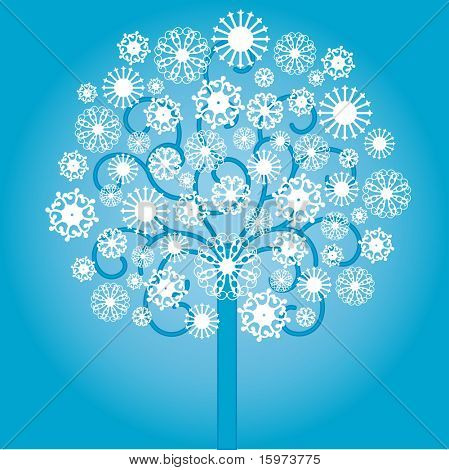 snowtree vector (like my Cindy's)