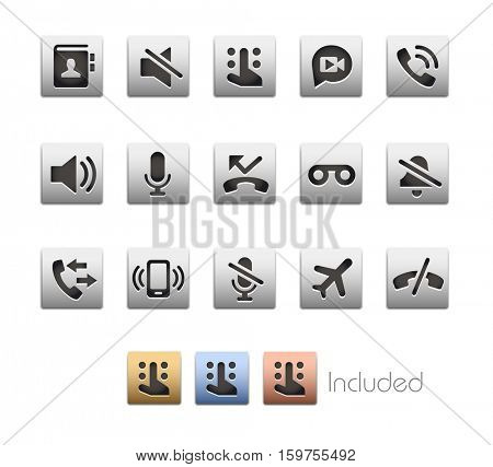 Interface Icons 1 / The vector file Includes 4 color versions in different layers.