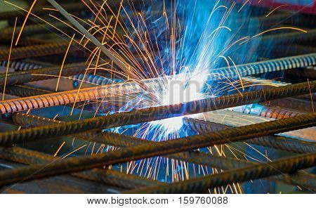 production of building constructions. manufacture of metal structures
