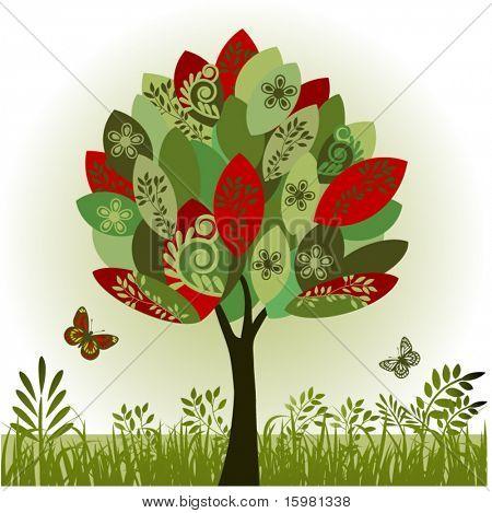 Árvore de funky