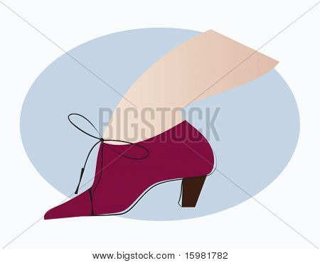 Fashion shootie boot