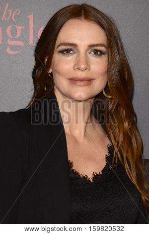 LOS ANGELES - DEC 1:  Saffron Burrows at the