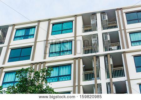 Modern Loft Condo Apartment Buildings Uprisen View