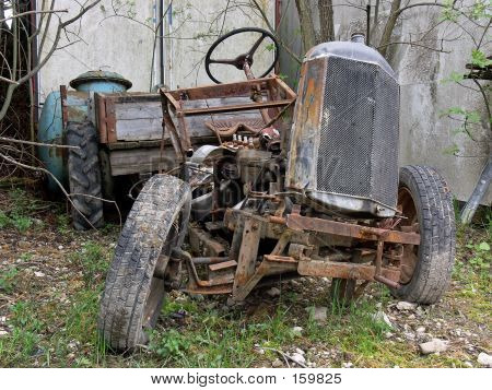 Too Old Tractor