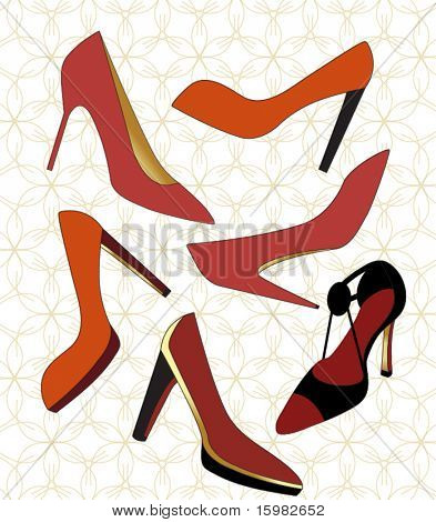Yummy high heeled shoes