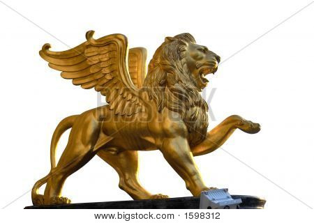 Lion With Wing