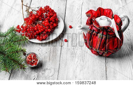 Tea With Cranberry