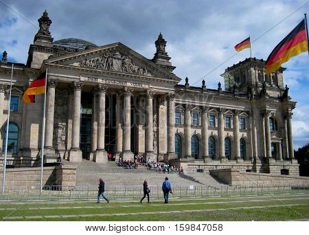the photo of the urban landscape with architectural building in Berlin