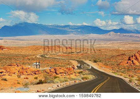 Valley Of The Fire National Park, Nevada, Usa