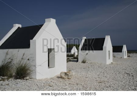Small White Slave Houses