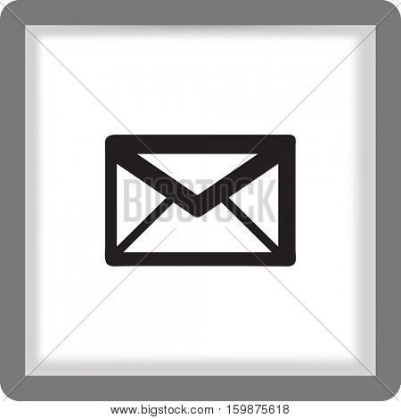 flat vector letter icon
